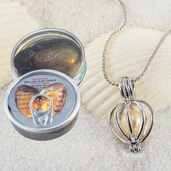 Jewelry - Luxury Wish Pearl In Oyster Necklace Gift Set