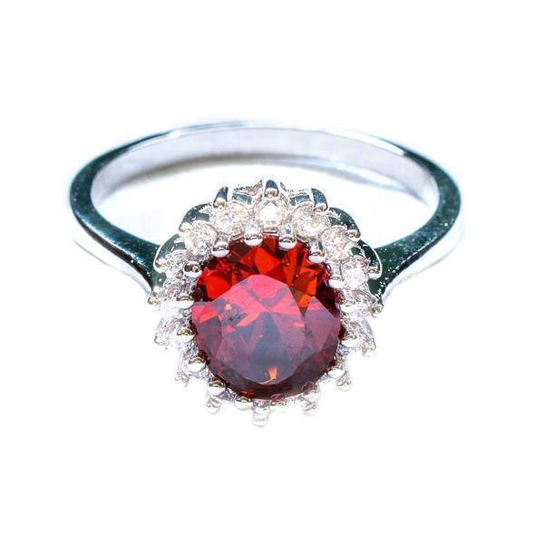 Jewelry - Royal Gemstone Ring - Assorted Colors