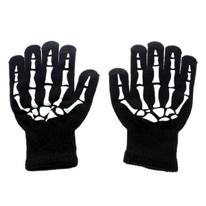 Kids - Kids' Winter Skeleton Gloves