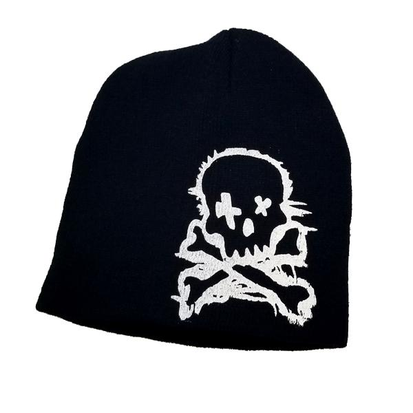 Kids - Kids' Winter Skull & Crossbones Knit Beanie And Gloves Set