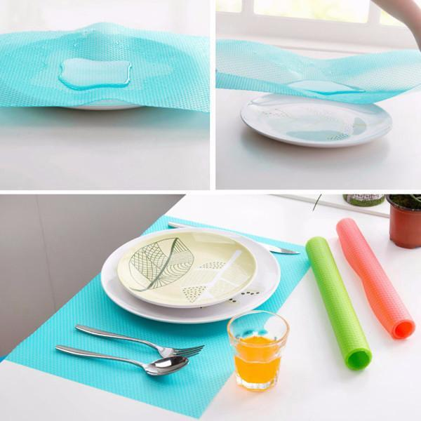 Kitchen - 4 Pack: Multipurpose Antibacterial Food Grade Silicone Refrigerator Mats