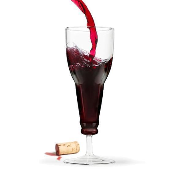 8 FOR ONLY $39.96 - Bottle Wine & Cocktail Glass