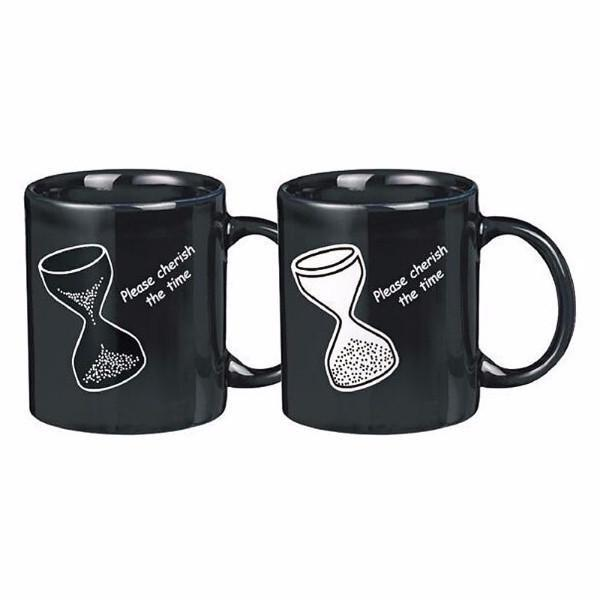 Kitchen - Cherish The Time - Hourglass Colour & Graphic Changing Mug