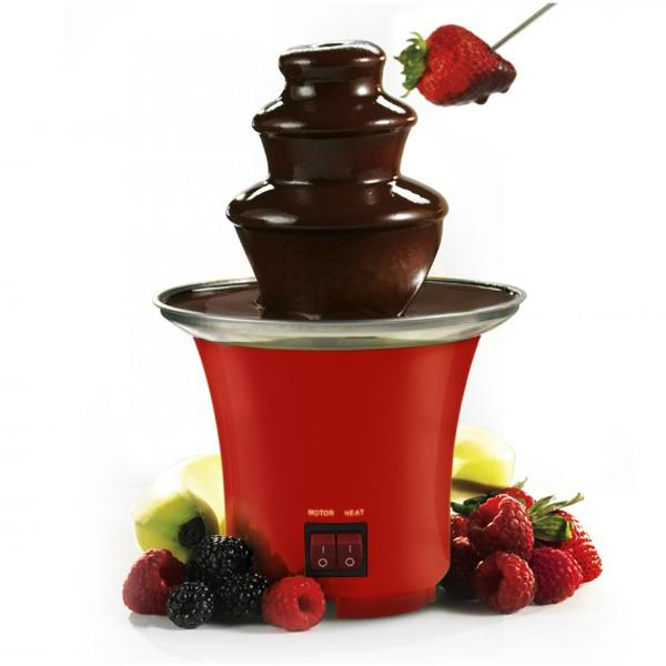 Kitchen - Dessert Delight: Mini Chocolate Fondue Fountain
