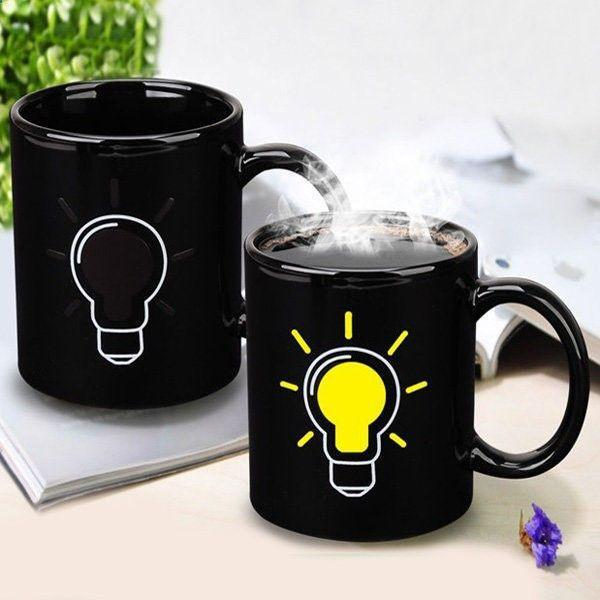 Kitchen - Idea Bulb Color & Graphic Changing Mug