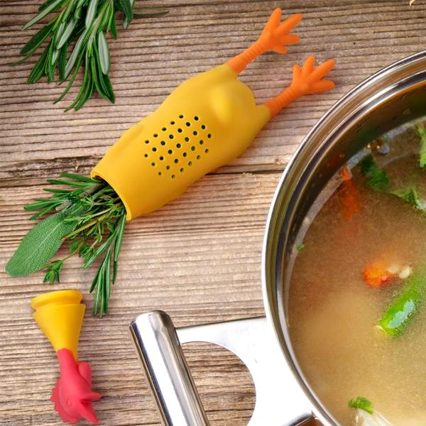 Kitchen - Le Crock Coq Chicken Herb Infuser