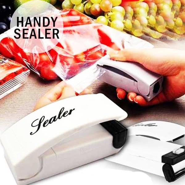 Kitchen - Portable Compact Bag Sealer With Easy Store Fridge Magnet