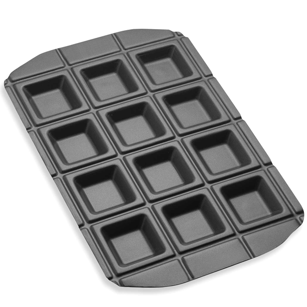 Kitchen - Rectangle 12-Pocket Baking Pan