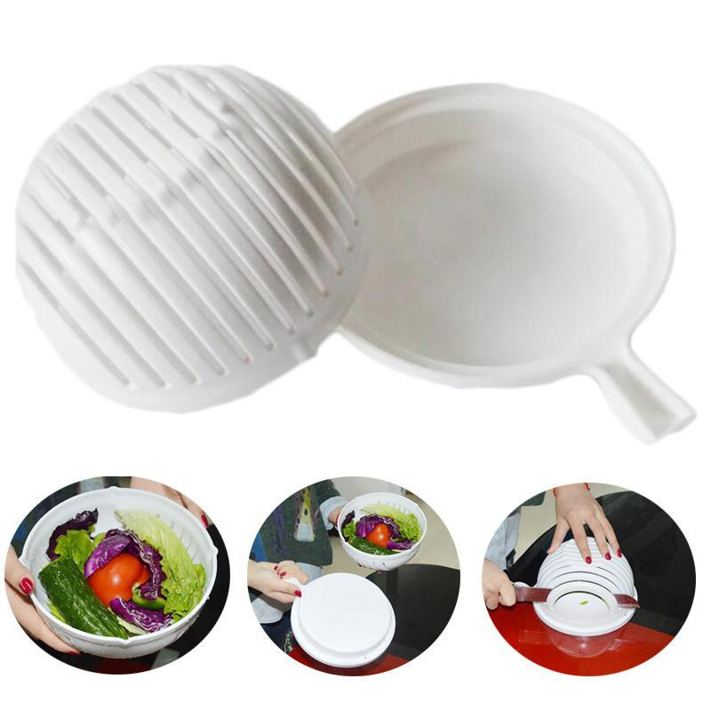 Kitchen - Slice And Serve Salad Bowl
