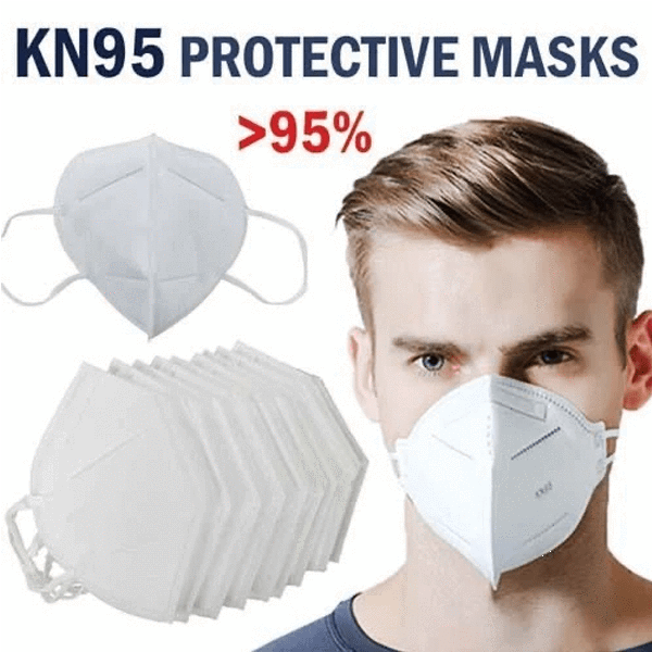 10 Pieces KN95 Protective Face Mask