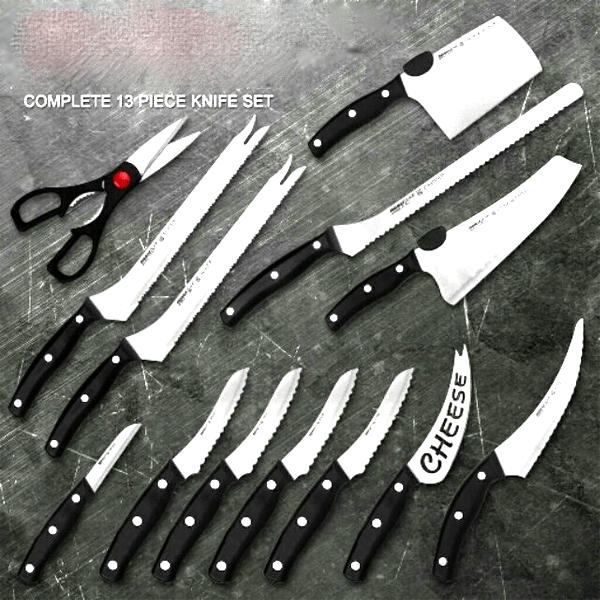 13-Piece Knife Set