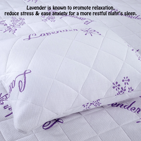 Lavender Infused Bamboo Pillow