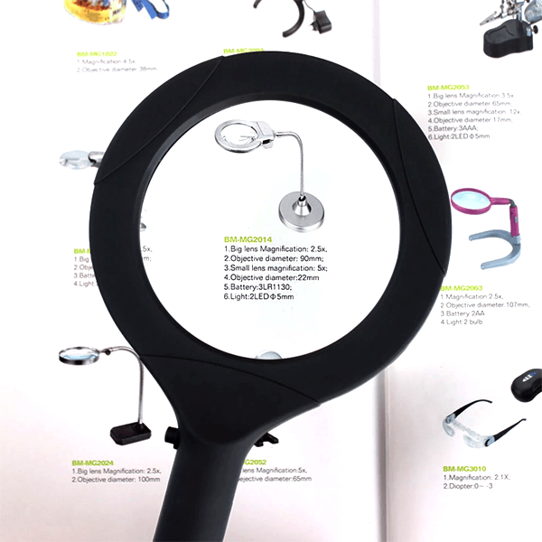 Magnifying Glass With LED Light