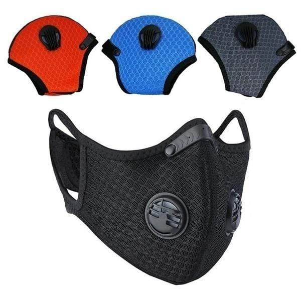 Sport Fashion Dust Mesh Mask Activated Carbon Filter