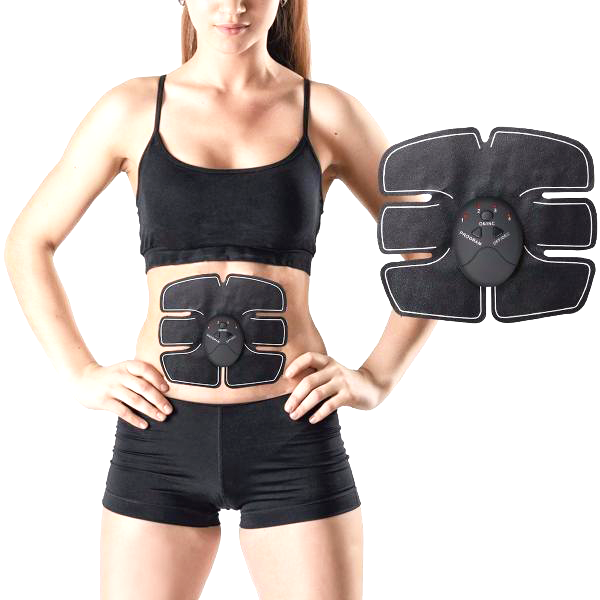 """Easy Abs"" Wireless Abs Stimulator and Abdominal Muscle Toning Device"