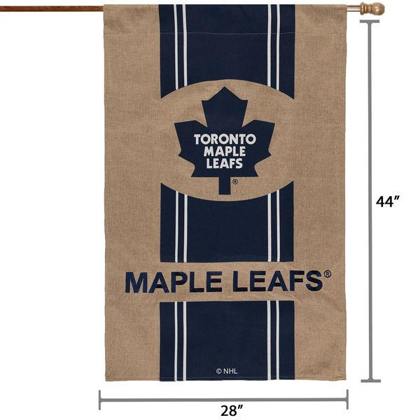 "NHL - Toronto Maple Leafs Officially Licensed Burlap House Flag - 28"" X 44"""