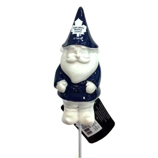 NHL - Toronto Maple Leafs Officially Licensed Gnome Plant Pick - Multi-Packs Available!