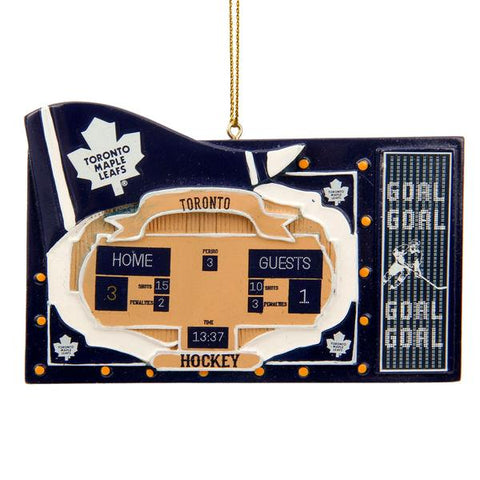 NHL - Toronto Maple Leafs Officially Licensed Scoreboard Holiday Ornament