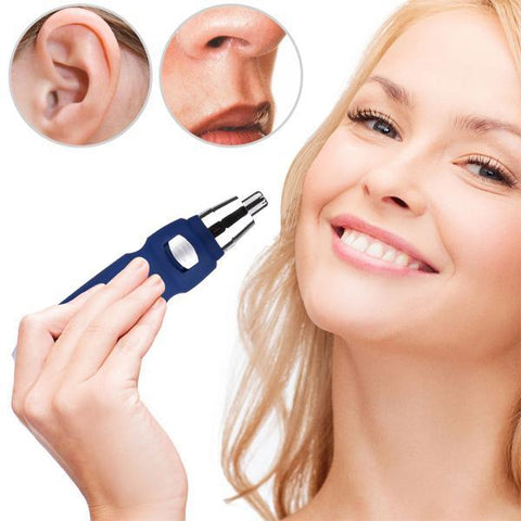Cordless Water Resistant Nose & Ear Hair Trimmer