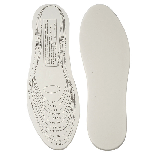 Buy 1 Get 1 Free For Only $9.99 + Free Shipping! Custom-Fit Unisex Therapeutic Memory Foam Insoles