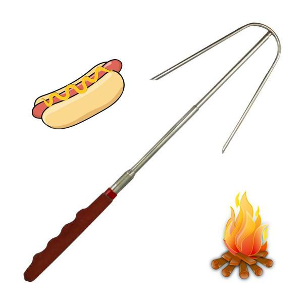 Outdoor - Pocket Size Extendable Hot Dog Fork