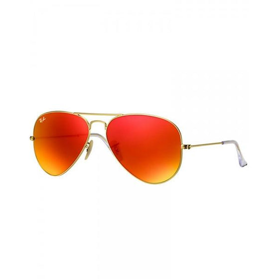 Outdoor - Ray-Ban Aviator Orange Flash Sunglasses