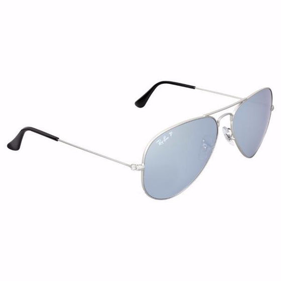Outdoor - Ray-Ban Aviator Silver Flash Polarized Sunglasses