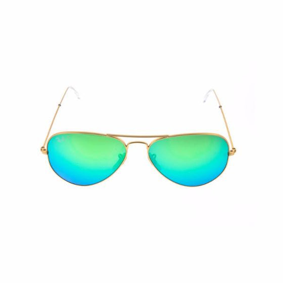 Outdoors - Ray-Ban Aviator Green Flash Polarized Sunglasses