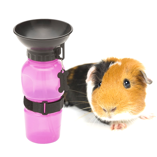 BPA Free Portable Pet Water Bottle With Drinking Bowl