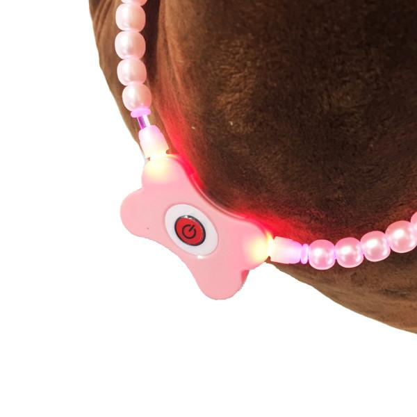 Pets - Pearl Pet Collar With LED Light