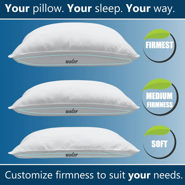 Memory Foam Water Pillow