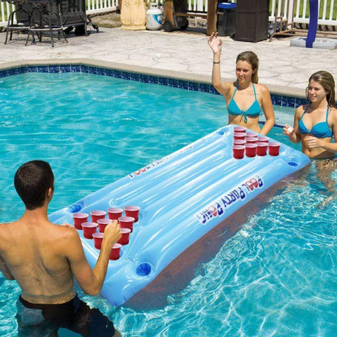 Inflatable Beer Pong Pool Table