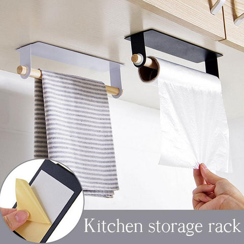 Wall Mounted Adhesive Towel Rack