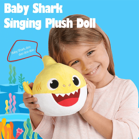 Singing & Dancing Baby Shark Plush Doll
