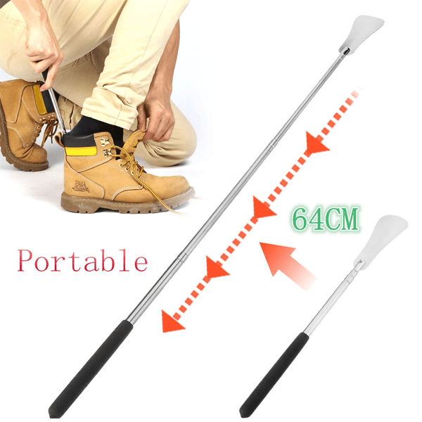 3 Pack: Extendable Shoe Horn