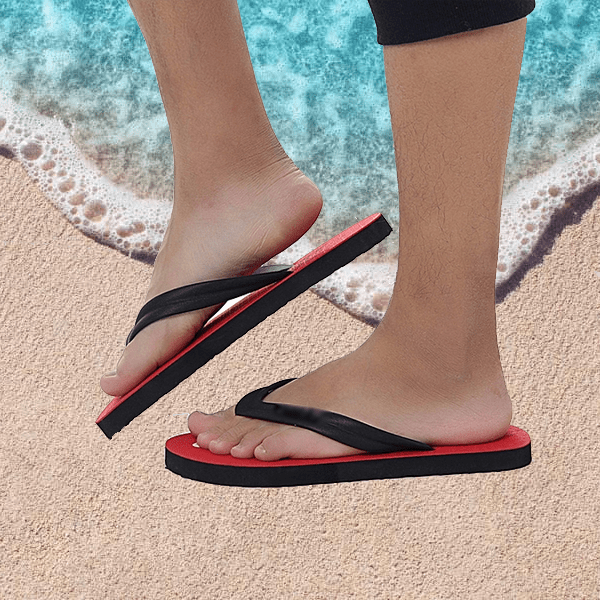 Women's Comfy Flip Flops With Unique Sole Contour