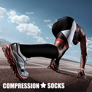5 Pairs Anti-Fatigue Compression Socks