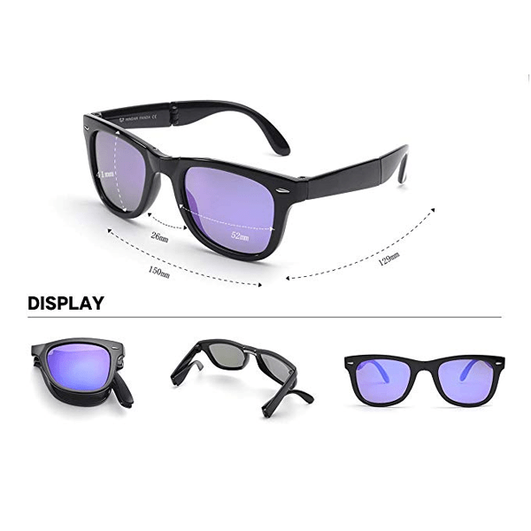 6 Pieces, 12 Pieces or 24 Pieces Polarized Folding Sunglasses