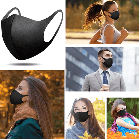 3 Pieces Thick Reusable Anti-Dust Face Mask