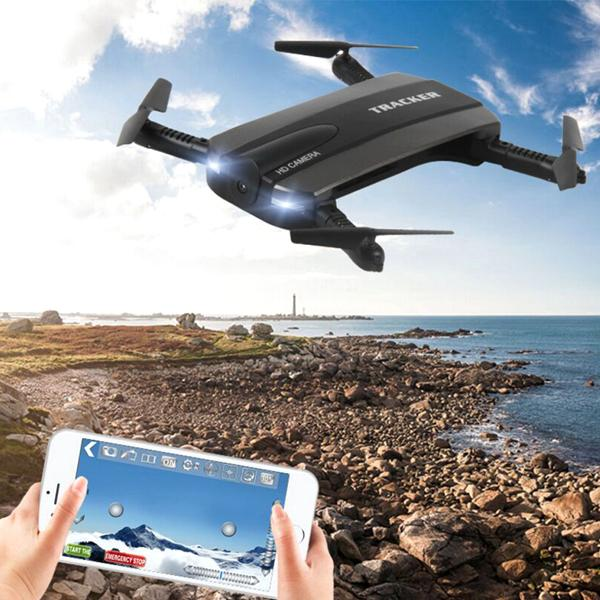 Toys - Eagle Eye 4-Axis Gyro Drone With HD Camera And WiFi Smartphone Control