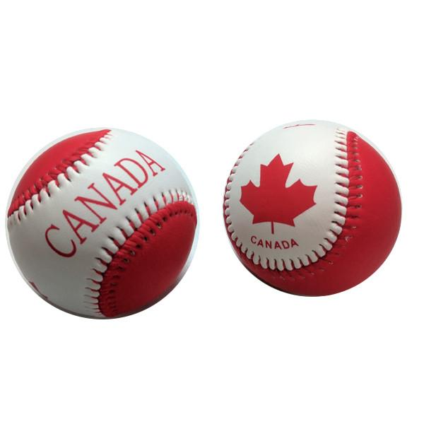 Toys - Team Canada Red & White Maple Leaf Baseball