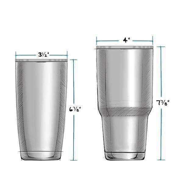 Yeti Stainless Steel Tumbler - 2 Sizes Available!