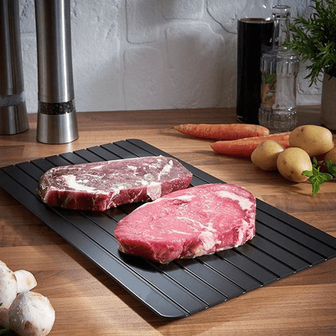 2-in-1 Fast Defrosting Meat Tray