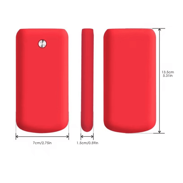 Ultra Thin 16800mAh  Smartphone Power Bank With LED Display - Assorted Colors