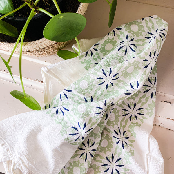 Chicory Towel - Mint