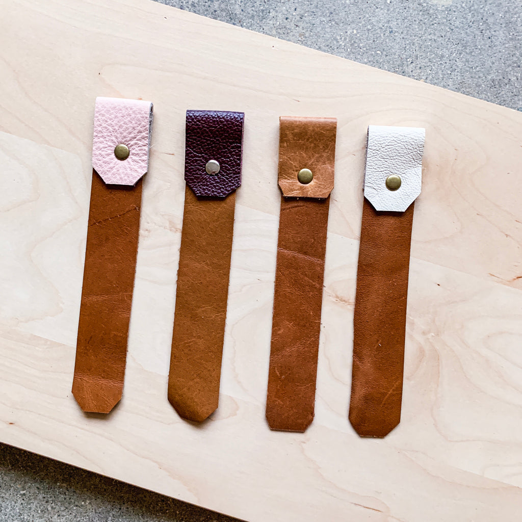 Leather Bookmark - Buy 3 Get One FREE