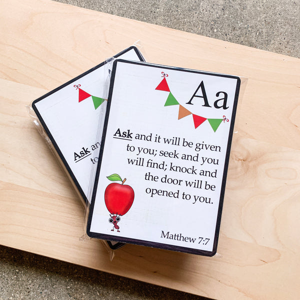 Prayer Card Set - Children's ABC