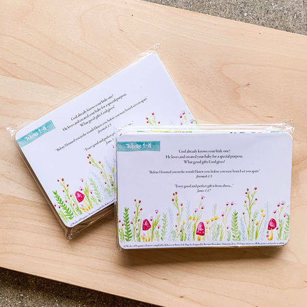 Pregnancy Prayer Card Set