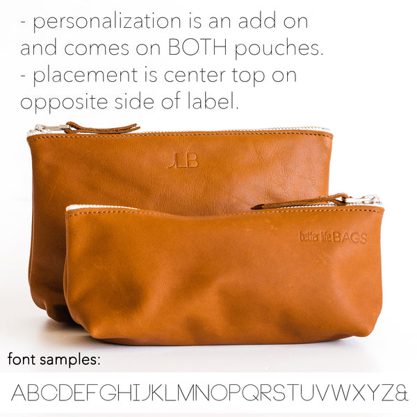 3 Letter Personalization (leave letters in notes at checkout)
