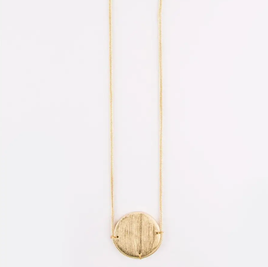 Horizon Gold Necklace